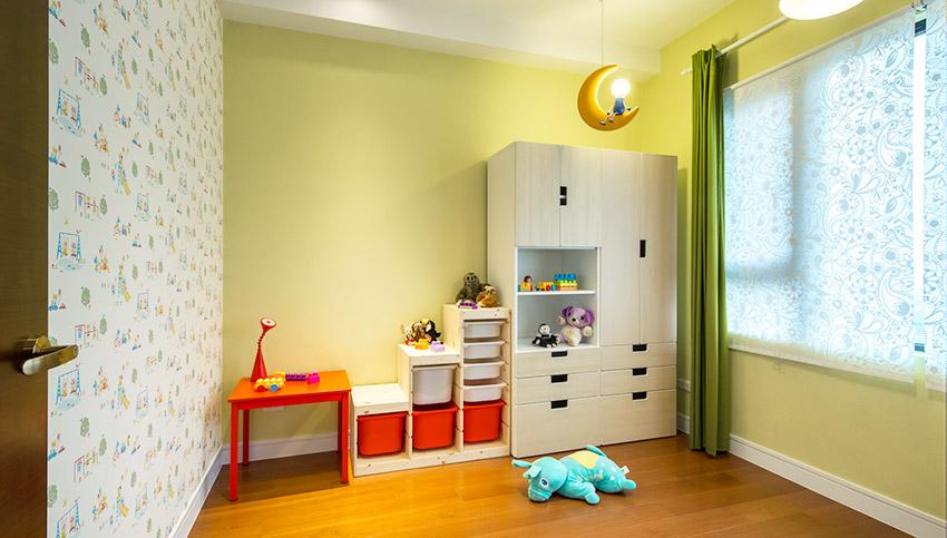 多彩儿童房