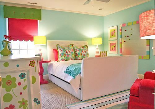 儿童房的颜色可能影响孩子性格