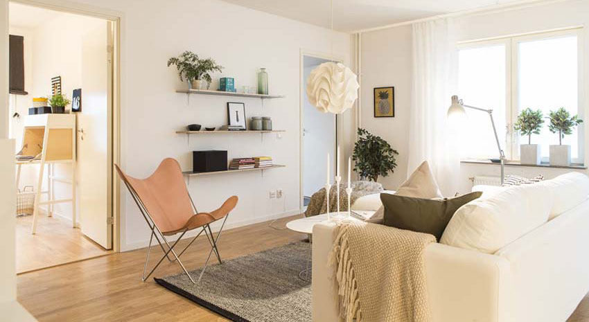 瑞典家具布置北欧风小宅